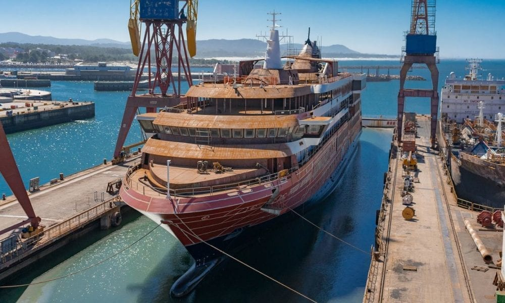 Cruise Ship Touches Water For First Time, Keel Laid For Next