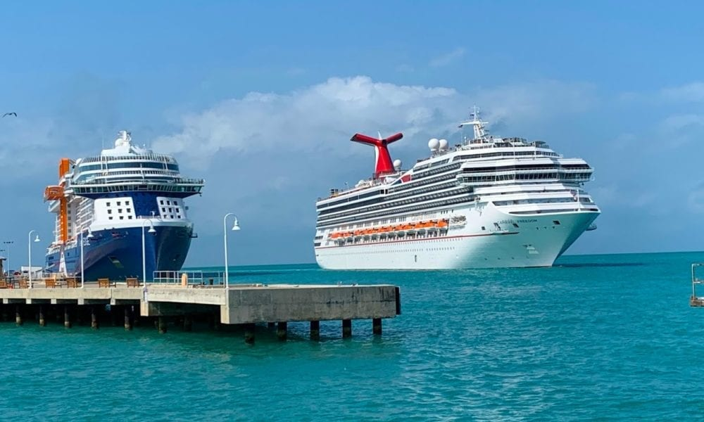 Key West Gives Cruise Industry the Middle Finger