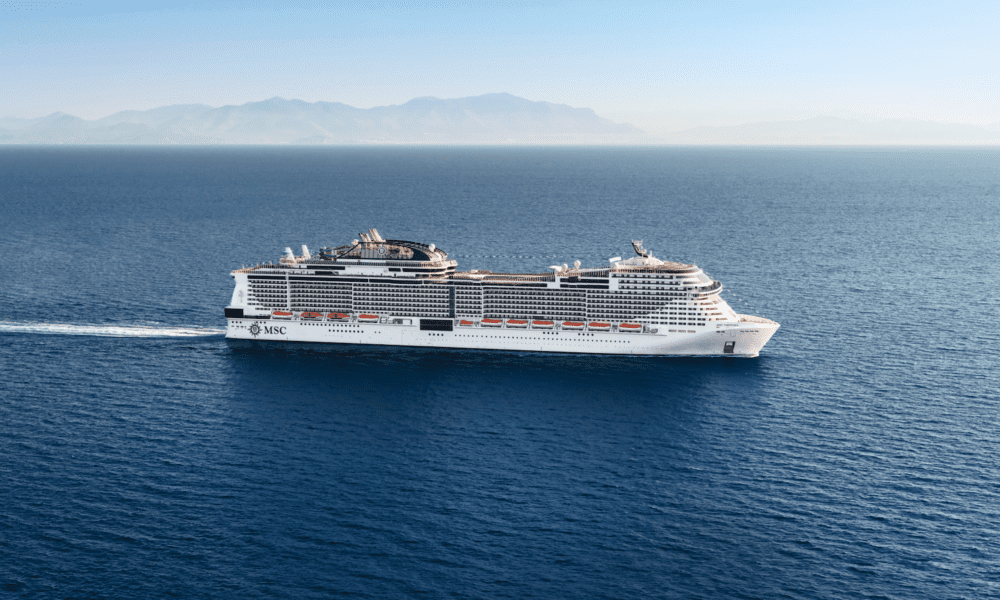 MSC Cruises Earns Environmental Award