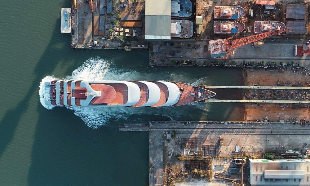 Emerald Cruises Celebrates Milestone for First Super Yacht