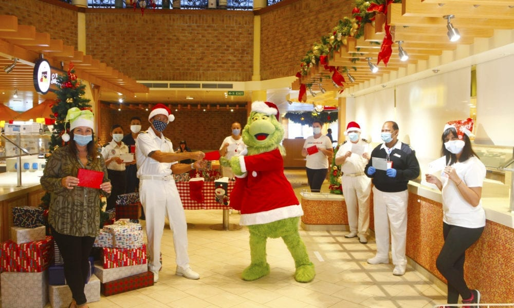 How Carnival Cruise Line Guests Brightened the Holidays for Crew