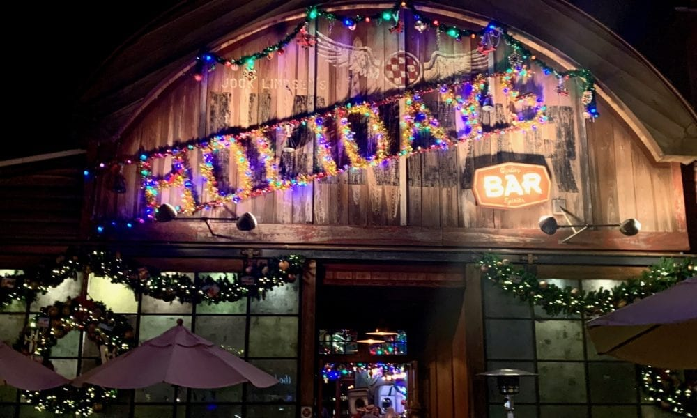 Christmas at Jock Lindsey's Hangar Bar in Disney Springs [PHOTOS]
