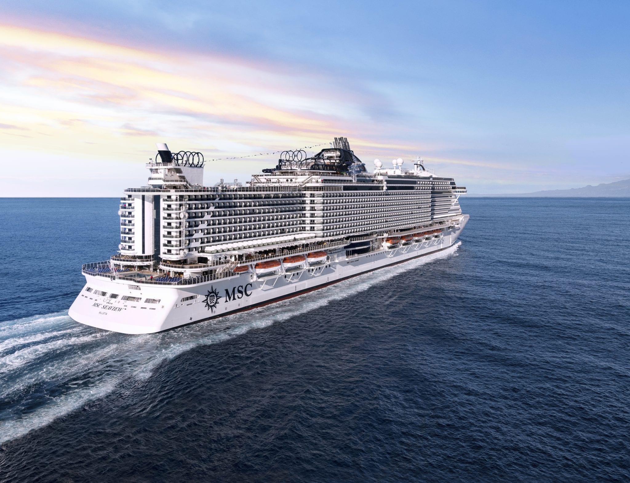 MSC Cruises Confirms Winter 2021/22 Sailing Schedule