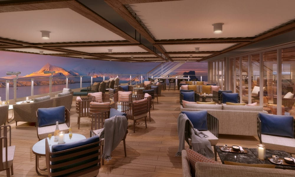 18 Renderings of the Luxury Seabourn Venture Cruise Ship